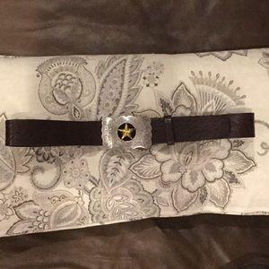 FOSSIL Genuine Leather Belt, Size Medium